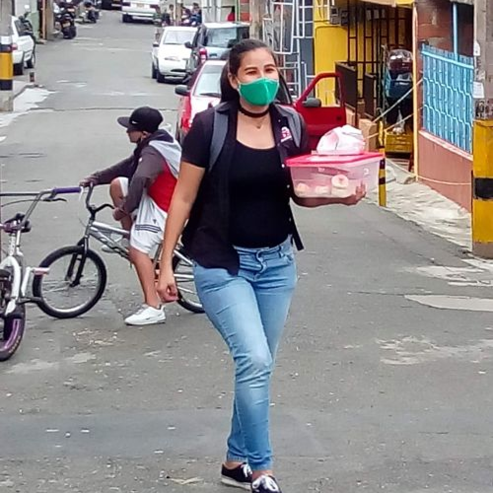 Una emprendedora venezolana que vive feliz en San Antonio de Prado