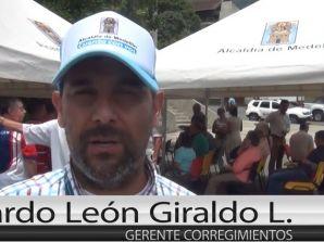 En horas de la tarde falleció, Ricardo León Giraldo López, exgerente de Corregimientos de Medellín