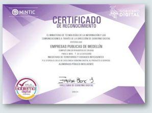 EPM obtiene reconocimiento por su gestión en alumbrado público