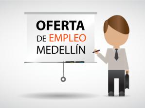 Atención¡ hay vacantes de empleo en Medellín.
