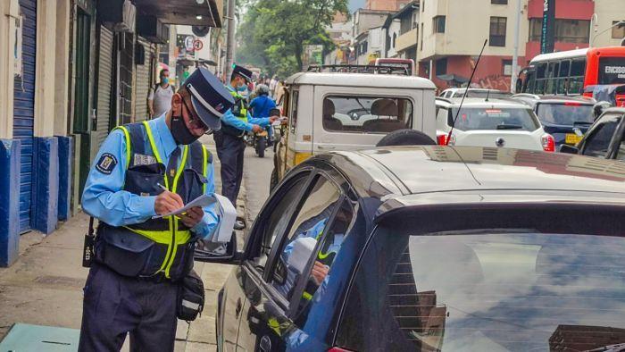 Inicia el periodo sancionatorio del pico y placa para carros particulares en Medellín