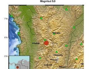 Fuerte temblor se sintió en San Antonio de Prado, Usted donde lo sintió?